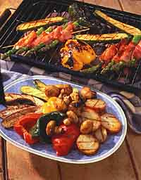 Grilled Veggies-June2009