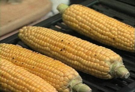 Grilling Corn