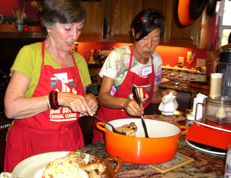 Private cooking class July 18, 2010
