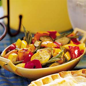 Grill Veggie Salad-July 2009 Cooking Club